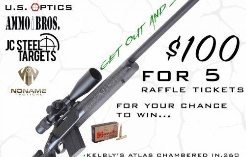 GET OUT AND SHOOT RAFFLE 5 tickets for $100